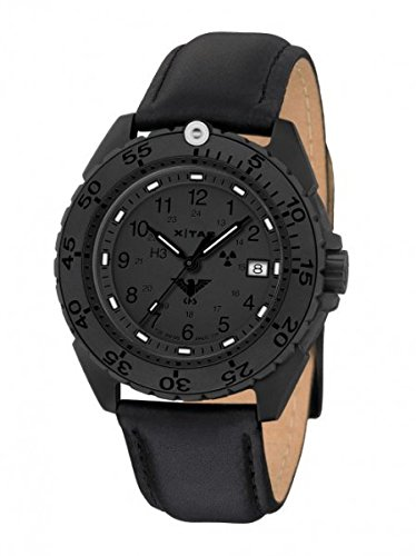 KHS Tactical Watches Enforcer Black Titan XTAC Militaer Armbanduhr KHS ENFBTXT L