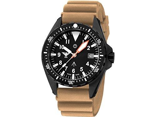 KHS Tactical Watches MissionTimer 3 Arabic KHS MTA DT Militaer Armbanduhr