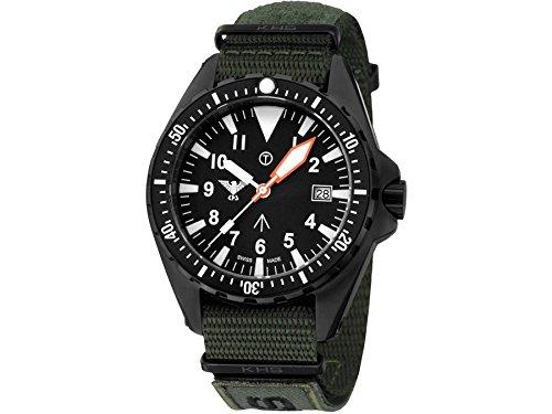 KHS Tactical Watches MissionTimer 3 Arabic KHS MTA NXTO1 Militaer Armbanduhr