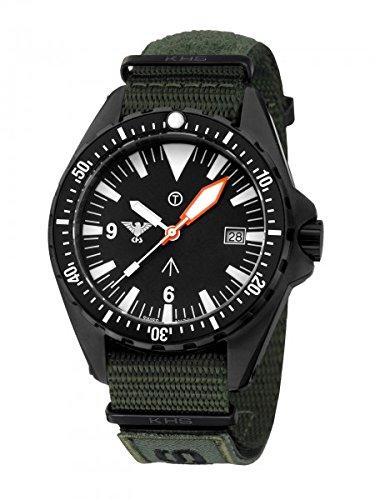 KHS Tactical Watches MissionTimer 3 Index KHS MTI NXTO1 Militaer Armbanduhr