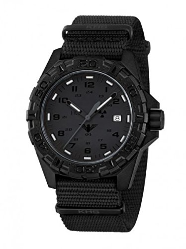 KHS Tactical Watches Reaper XTAC Militaer Armbanduhr Nato black KHS REXT NB