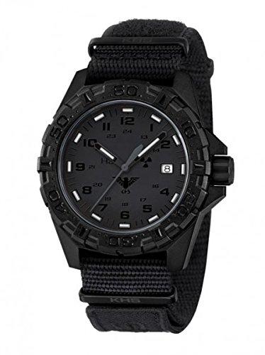 KHS Tactical Watches Reaper XTAC Militaer Armbanduhr Nato black KHS REXT NXT1