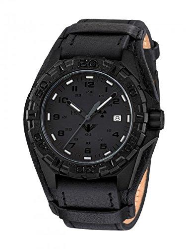 KHS Tactical Watches Reaper XTAC Militaer Armbanduhr Nato black KHS REXT R
