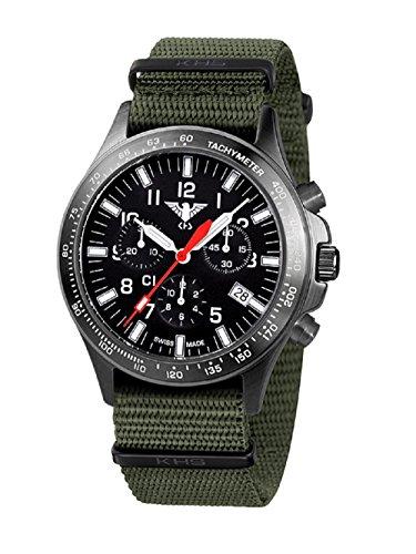 KHS Tactical Watches Platoon C1 KHS BPCC1 NO Edelstahl IPB Nato Olive