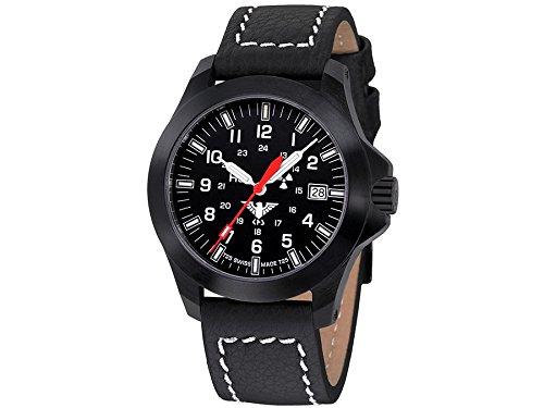 KHS Tactical Watches Black Platoon LDR KHS BPLDR LBB Militaer Armbanduhr