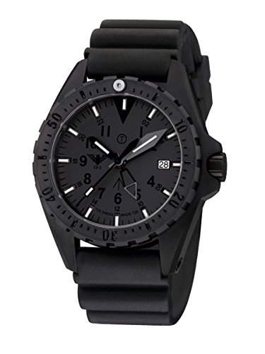 KHS Tactical Watches MissionTimer 3 Titan GMT X TAC H3 KHS MTTGXT DB