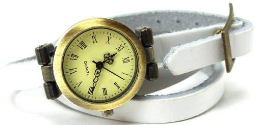 Armbanduhr-Damen-Uhr-Wickelarmband-Uhr- Wickel-Armband-Uhr U60-15
