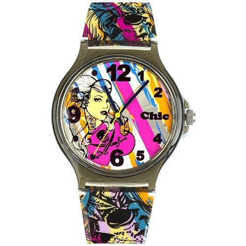 Teenie Weenie Maedchen Armbanduhr Analog Quarz Plastik VUC009