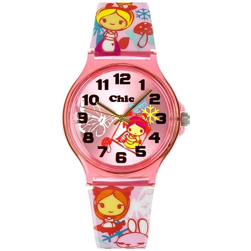 Teenie Weenie Maedchen Armbanduhr Analog Quarz Plastik VUC032