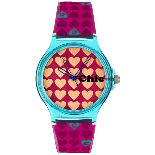 Teenie Weenie Maedchen Armbanduhr Analog Quarz Plastik VUC022