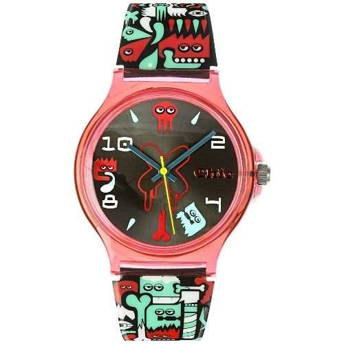 Teenie Weenie Maedchen-Armbanduhr Analog Quarz Plastik VUC004