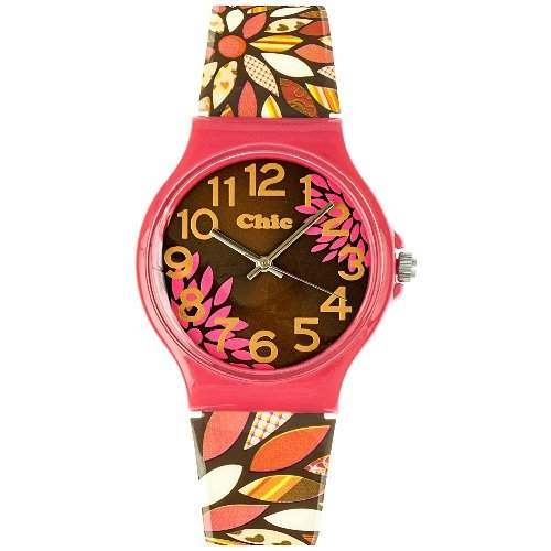 Teenie Weenie Maedchen-Armbanduhr Analog Quarz Plastik VUC013