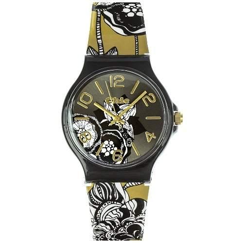 Teenie Weenie Maedchen-Armbanduhr Analog Quarz Plastik VUC015
