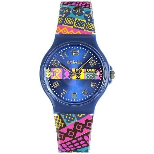 Teenie Weenie Maedchen-Armbanduhr Analog Quarz Plastik VUC017