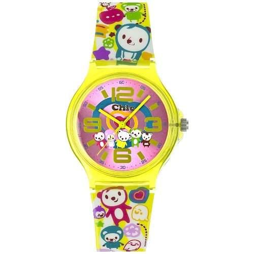 Teenie Weenie Maedchen-Armbanduhr Analog Quarz Plastik VUC027