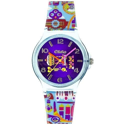 Teenie Weenie Maedchen-Armbanduhr Analog Quarz Plastik VUC028