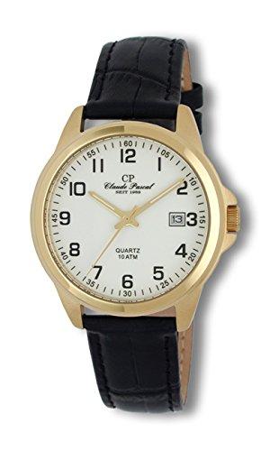Claude Pascal Armbanduhr mit Lederband 34808561 IPG