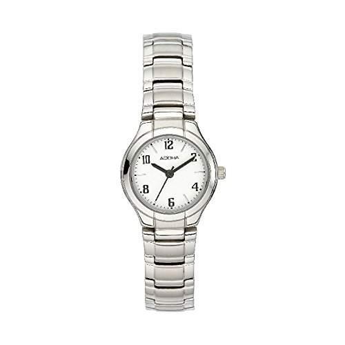 Adora Damenuhr mit Edelstahlband 1-20131X-001, Armbandfarbe:Silber