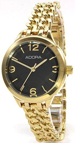 Adora C2786GO Edelstahl Schmuckband Gold ionenplattiert