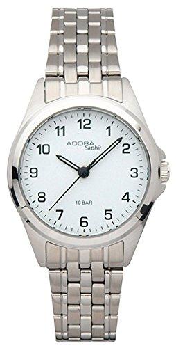 Armbanduhr Quarzuhr Analoguhr Edelstahl mit Saphirglas Adora Saphir 29095 Variante 01