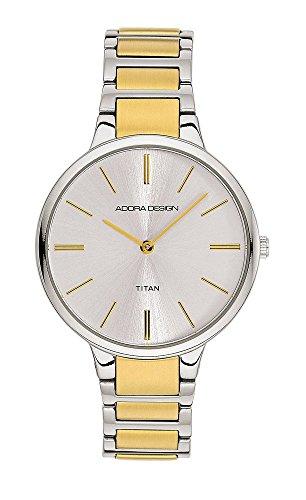 Armbanduhr Analoguhr Titan bicolor Adora Design Style Icon 28439