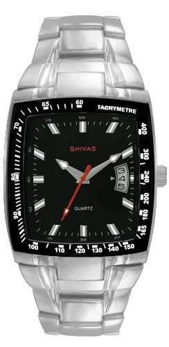 Shivas Herren-Armbanduhr Analog Quarz Silber A73113-003