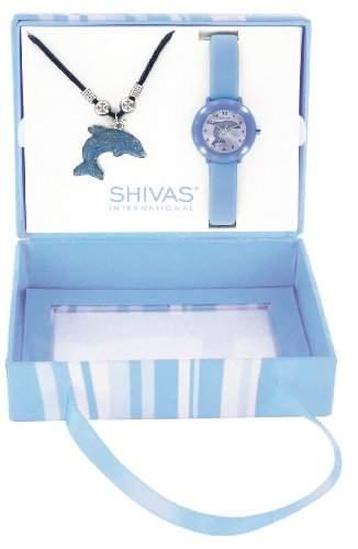Shivas Kinder-Armbanduhr Analog Quarz Blau A20900-008