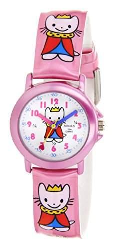 Shivas Kinder-Armbanduhr Analog Quarz Rosa A21172-002