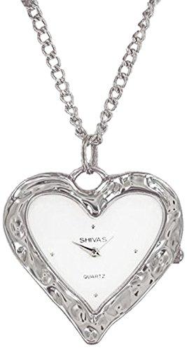 Shivas a42812 002 Damen Armbanduhr 045J699 Analog silber Armband Metall silber