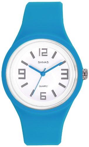 Shivas Damen Armbanduhr Analog Quarz Kunststoff A48462 008