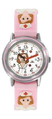Shivas Maedchen Armbanduhr Analog Quarz Rosa A21162 001
