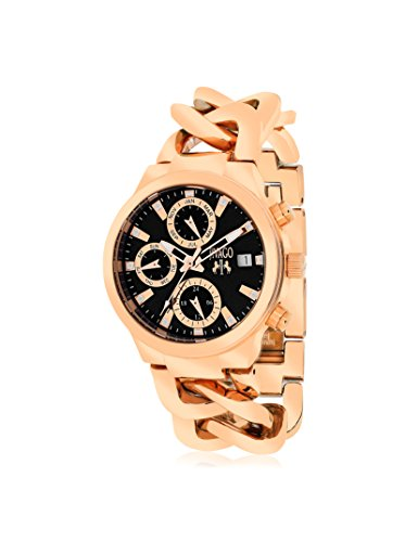 Jivago Damen jv1243 Analog Display Swiss Quartz Rose Gold Watch
