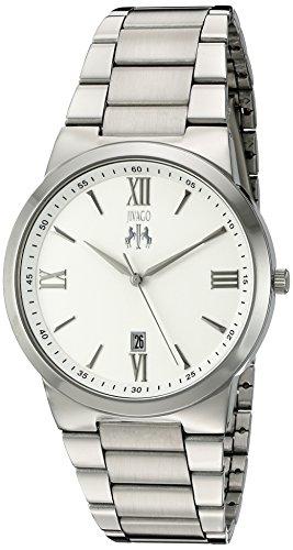 Jivago Herren Klarheit Quarz Edelstahl casual Uhr Farbe silberfarbene Modell jv3510