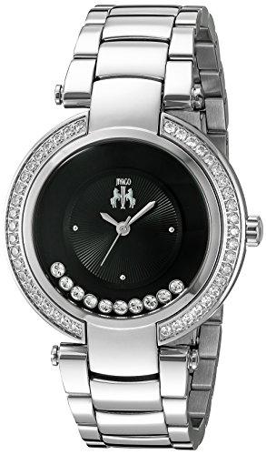Jivago Damen jv1611 Feiern Analog Display Swiss Quartz Silber Uhr