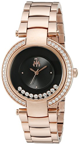 Jivago Damen jv1615 Feiern Analog Display Swiss Quartz Rose Gold Watch