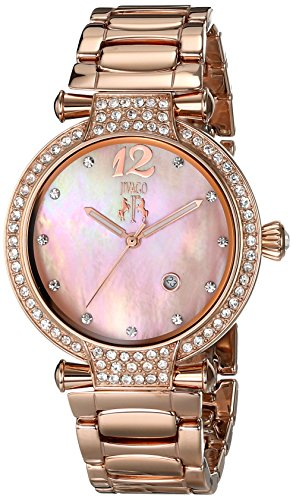 Jivago Damen jv2219 Bijoux Analog Display Swiss Quartz Rose Gold Watch