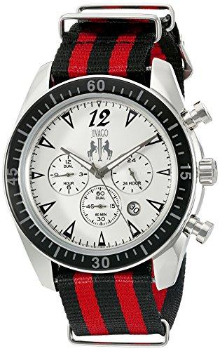 Jivago Herren jv4510nr zeitloses Analog Display Quarz Zweifarbige Armbanduhr