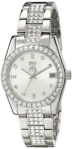 Jivago Damen jv6410 Magnifique Analog Anzeige Quarz Silber Armbanduhr