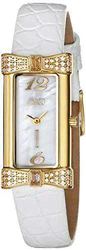 Jivago Damen JV1414 Charmante Analog Display Swiss Quartz White Armbanduhr