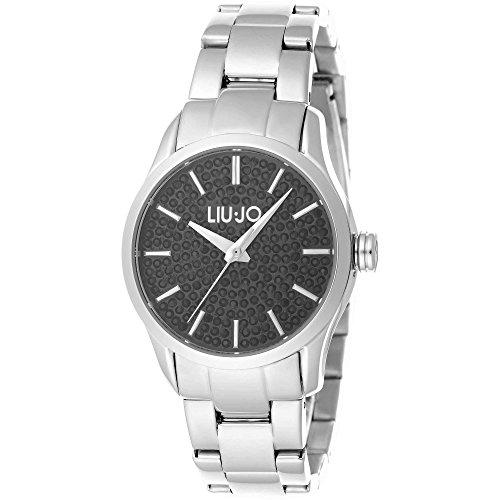 Armbanduhr Damen Stahl Victoria schwarz tlj1076 Liu Jo Luxury
