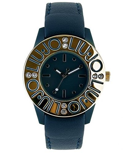 LIU JO armbanduhr camp063 Luxury Bubble Limited Edition blau Leder