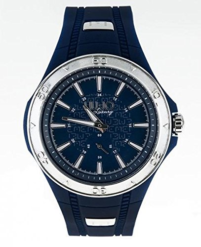 LIU JO Uhr Armbanduhr Herren camp586 Exklusives Luxury Harz Blau Casual Oversize