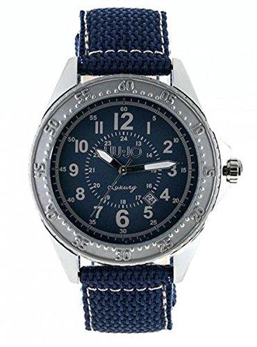 LIU JO Uhr Armbanduhr Herren camp600 Luxury Limited Edition blau Stahl Stoff