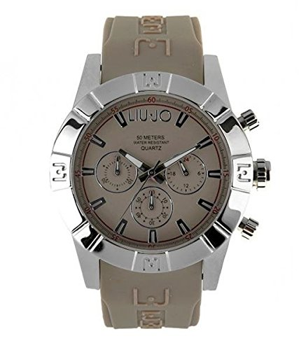 LIU JO Uhr Armbanduhr Herren camp607 Luxury Limited Edition taupe Stahl Chrono