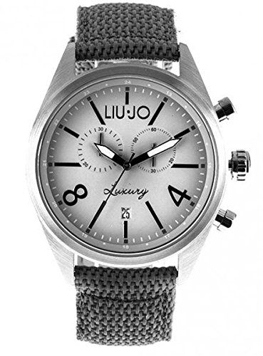 LIU JO Uhr Armbanduhr Herren camp618 Luxury Limited Edition Chrono Stoff Stahl