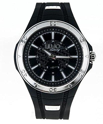 LIU JO Uhr Herren camp589 Luxury Limited Edition Schwarz Stahl Oversize