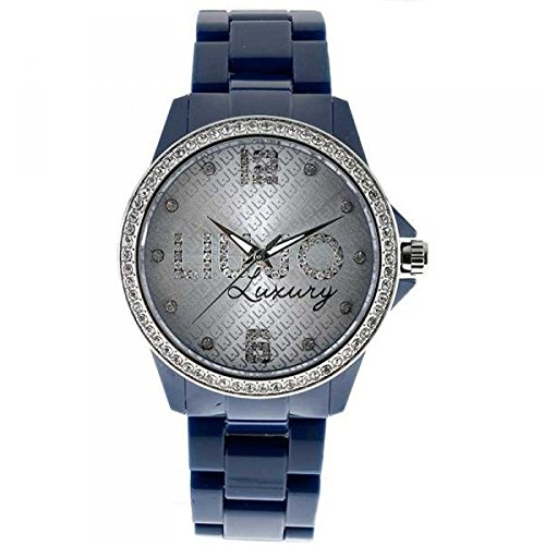LIU JO Uhr Damen Luxury Charlotte blau Silver Fashion Liujo Uhren camp051