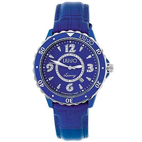 Uhr Damen Liu Jo Luxury Spotlight Regular Leder blau tlj020