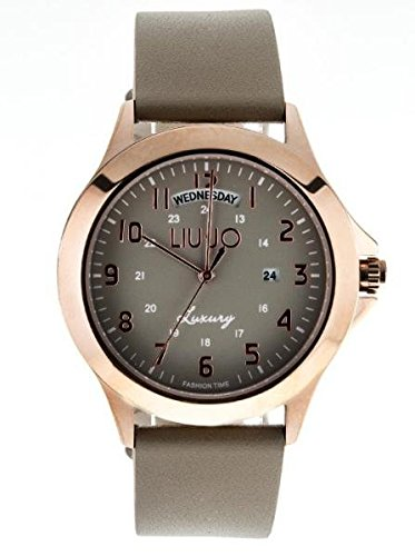 LIU JO Uhr Unisex camp582 Luxury Limited Edition Braun Klar Stahl