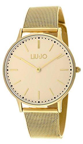 LIU JO TLJ970 MOONLIGHT GOLD Uhr Edelstahl 30m Analog gold